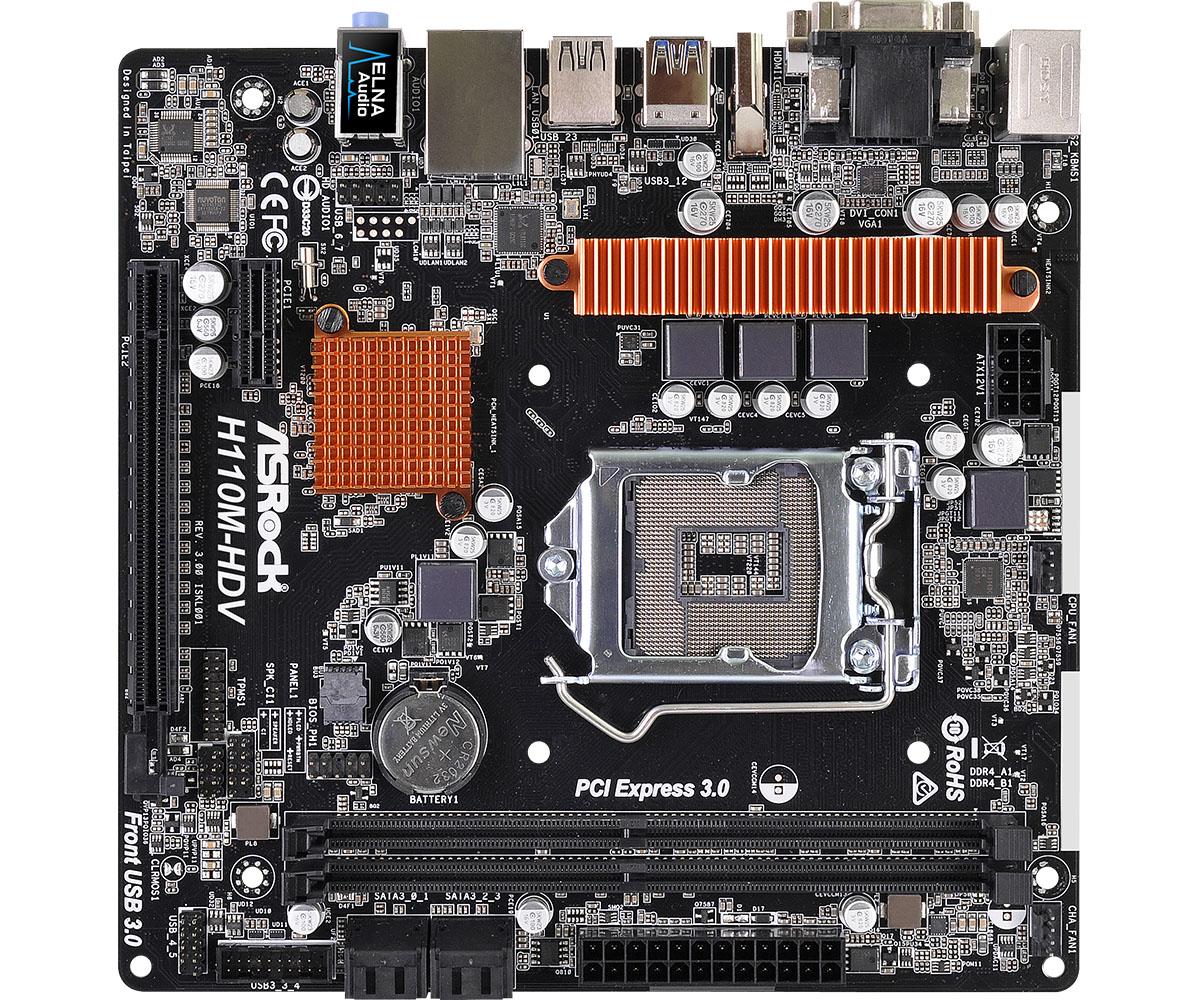 Placa de baza ASRock H110M-HDV R3.0 Socket 1151
