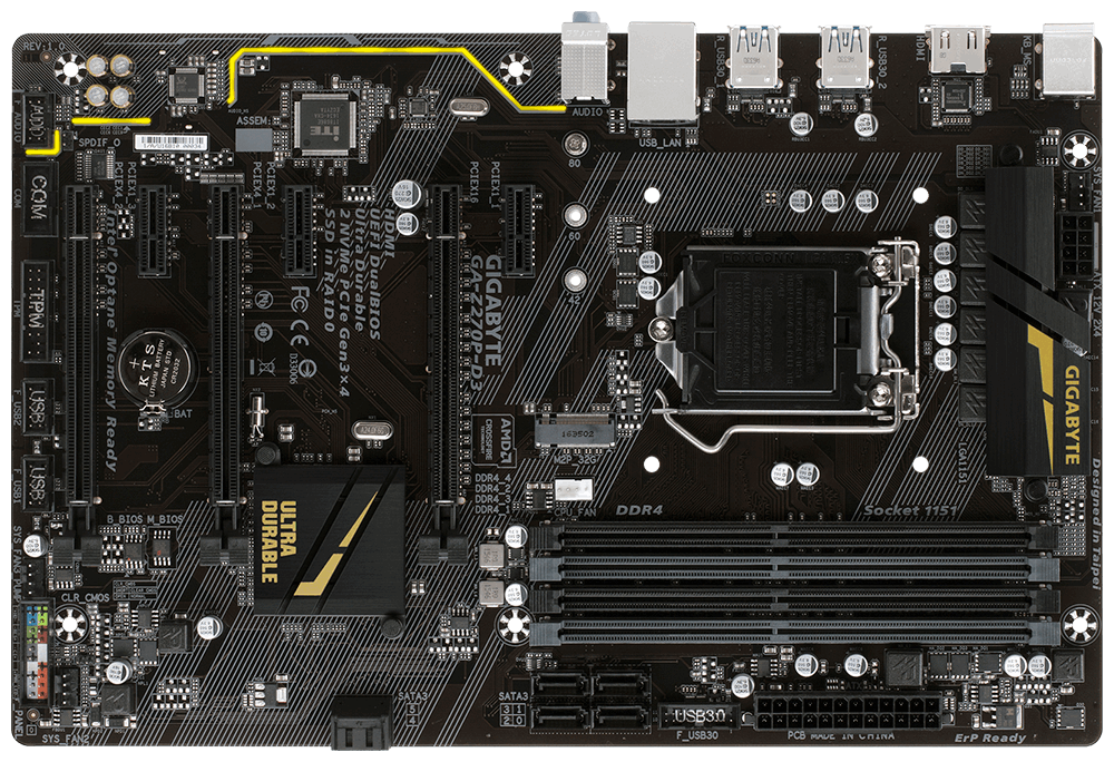 Placa de baza Gigabyte Z270P-D3 Socket 1151
