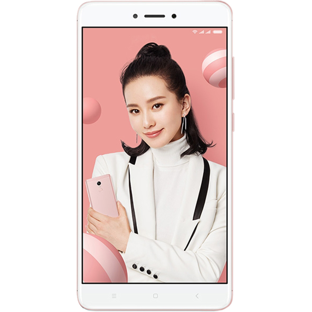 Telefon Mobil Xiaomi Redmi Note 4X 32GB Flash 3GB RAM Dual SIM 4G Pink