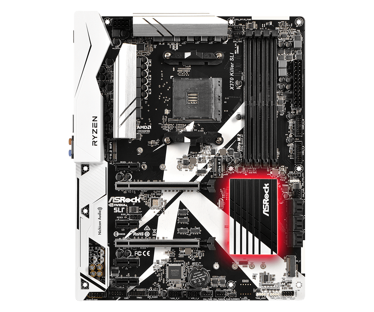 Placa de baza ASRock X370 Killer SLI Socket AM4