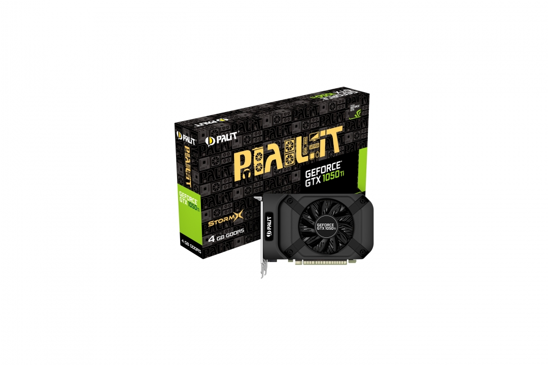 Placa Video Palit GeForce GTX 1050Ti StormX 4GB GDDR5 128 biti title=Placa Video Palit GeForce GTX 1050Ti StormX 4GB GDDR5 128 biti