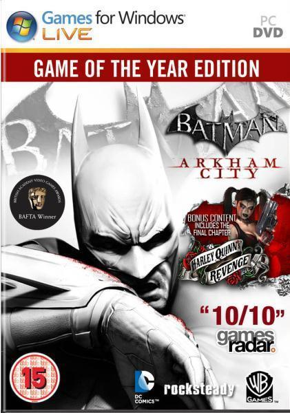 Batman Arkham City Goty - PC