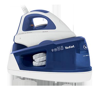 Statie de calcat Tefal Purely & Simply SV5030E0 Capacitate 1.2L Albastru/Alb
