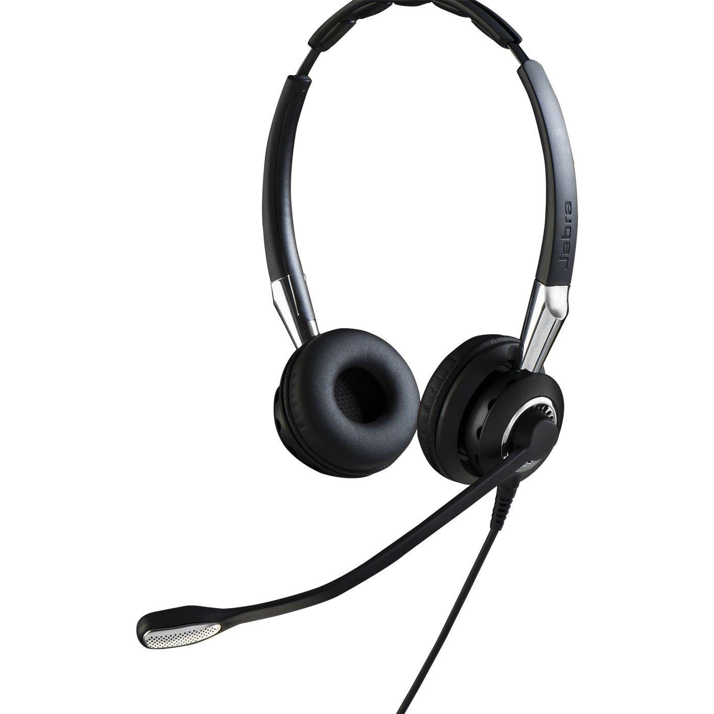 Casca Bluetooth Jabra BIZ 2400 Duo QD NC Wideband
