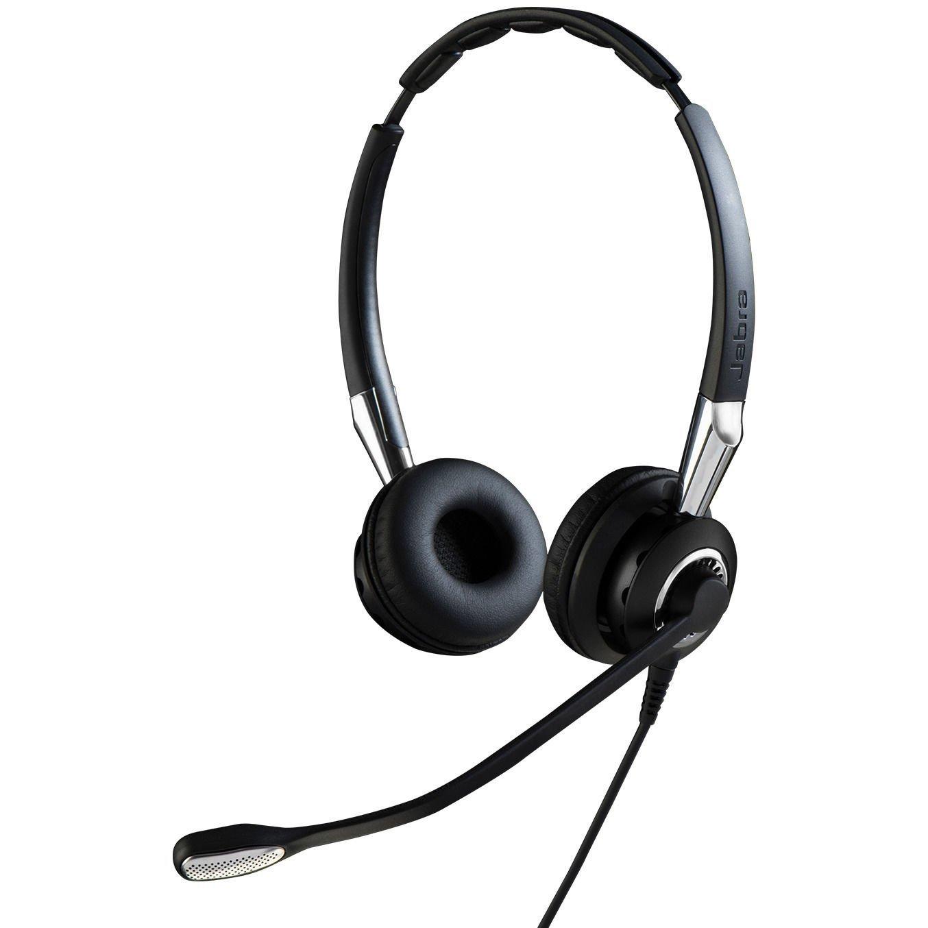 Casca Bluetooth Jabra BIZ 2400 Duo QD NC