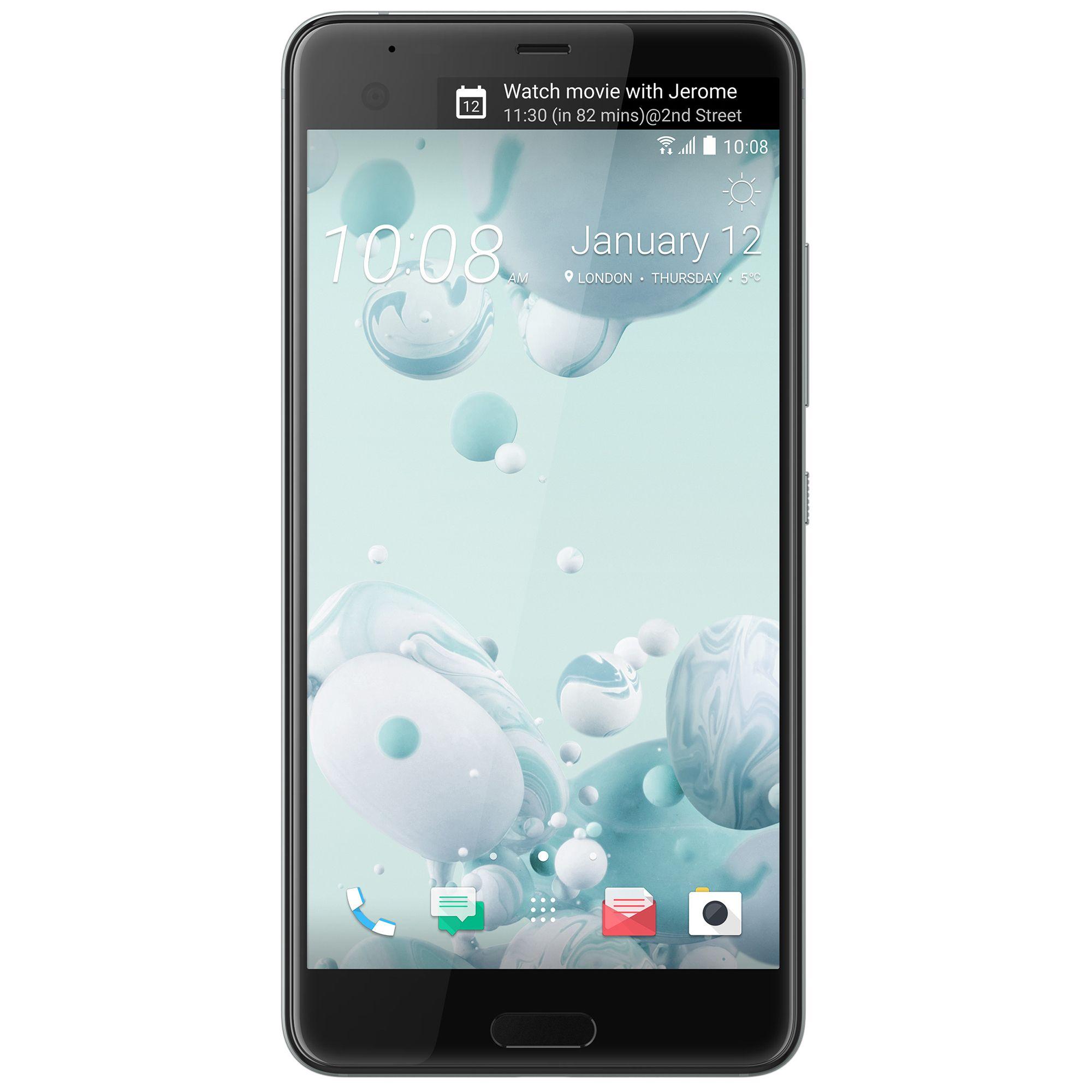 Telefon Mobil HTC U Ultra 64GB Flash 4GB RAM Single SIM 4G Ice White