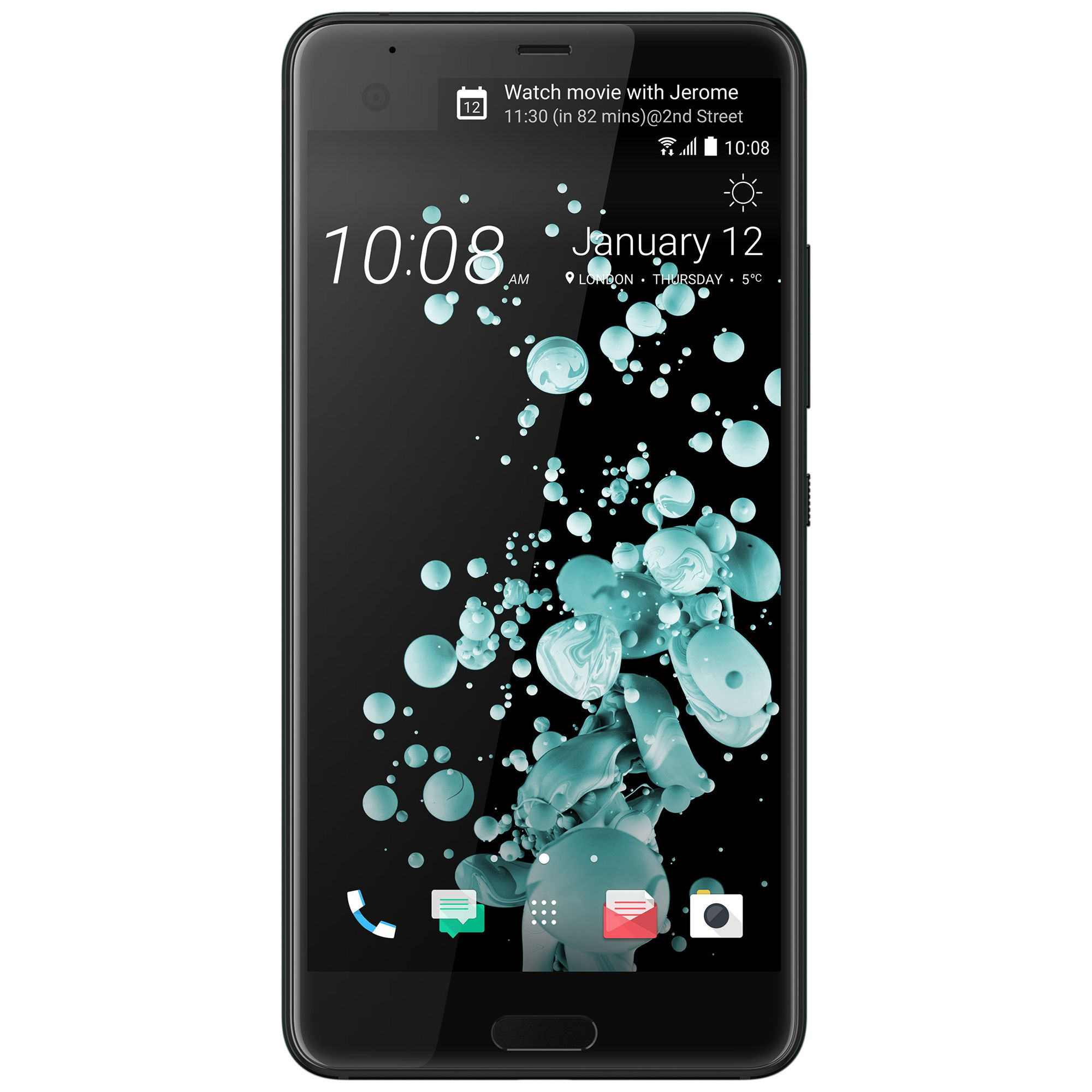 Telefon Mobil HTC U Ultra 64GB Flash 4GB RAM Single SIM 4G Brilliant Black