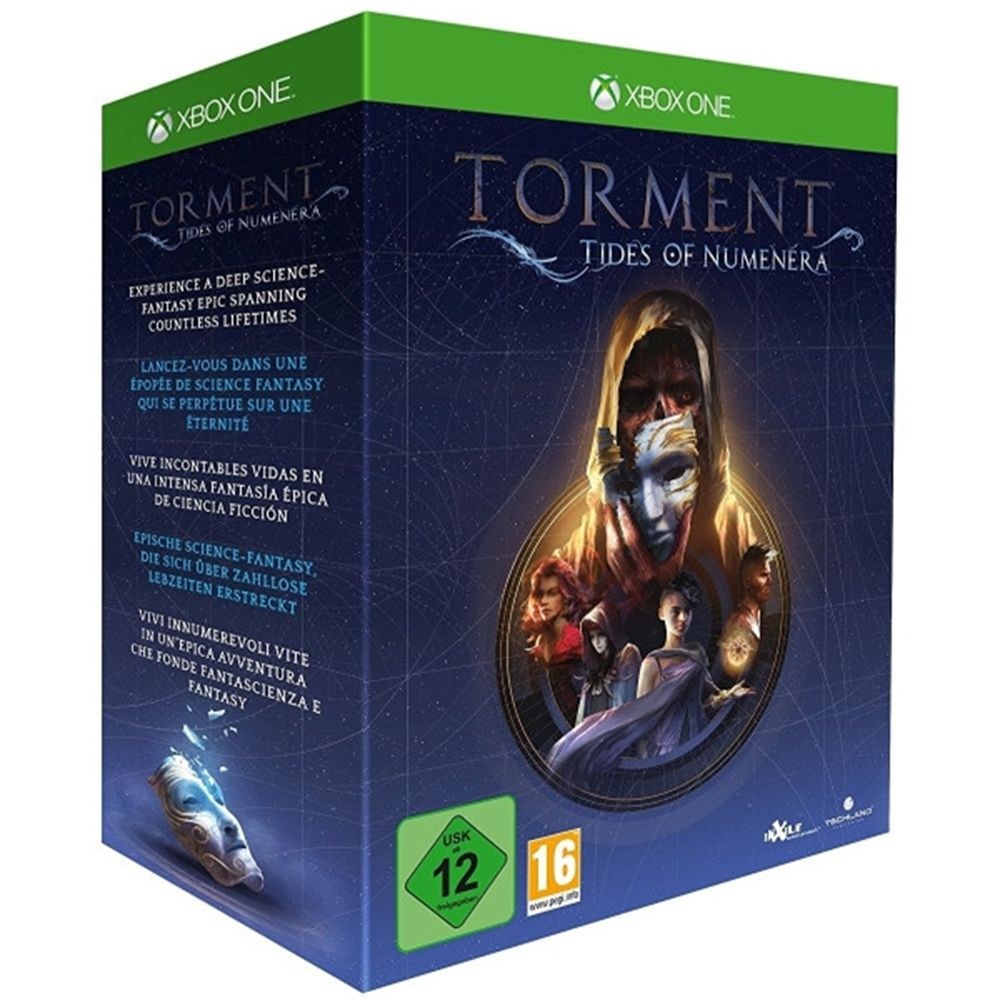 Torment Tides Of Numenera Collectors Edition Xbox One