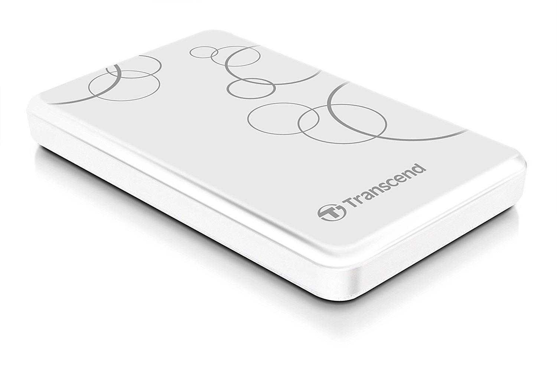 Hard Disk Extern Transcend StoreJet 25A3 2TB USB 3.0 Alb