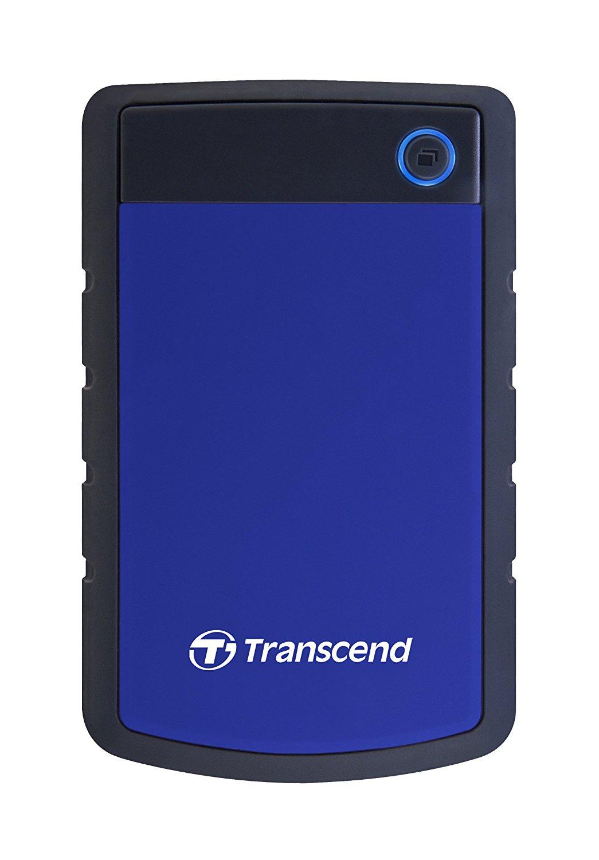 Hard Disk Extern Transcend StoreJet 25H3 1TB USB 3.0 Albastru