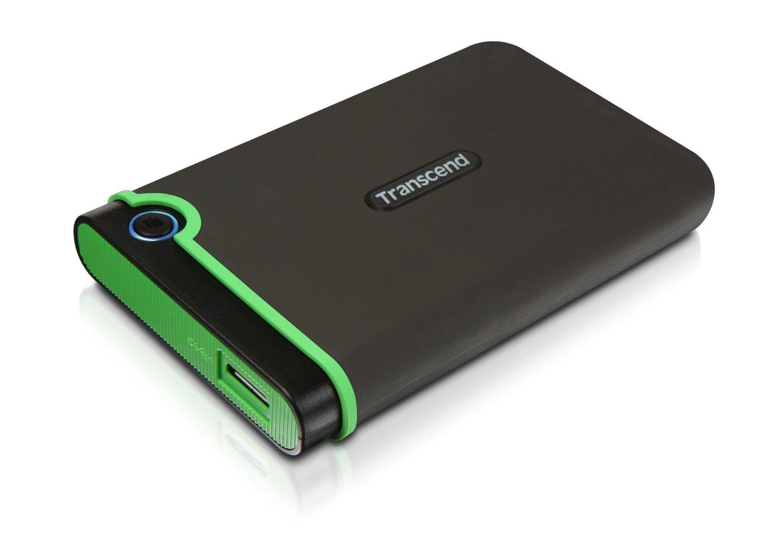 Hard Disk Extern Transcend StoreJet 25M3 500GB USB 3.1 Negru