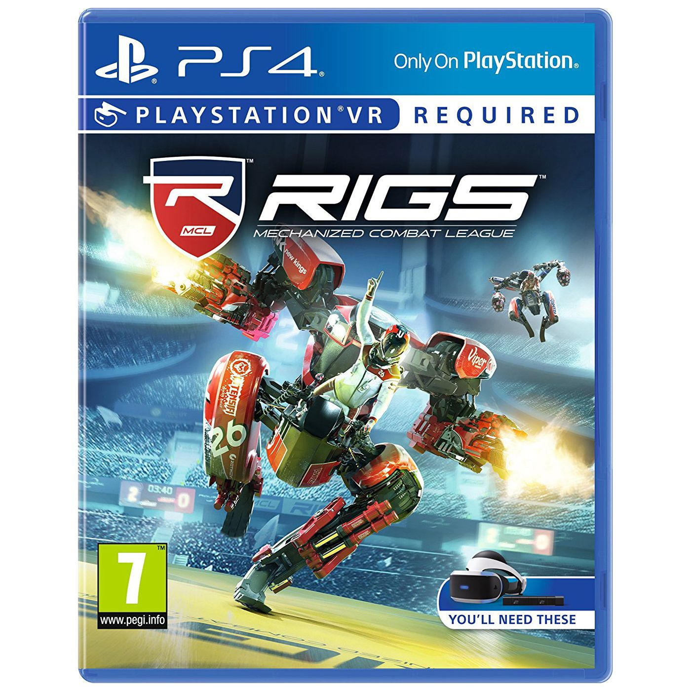 RIGS Mechanized Com Leagues VR PS4