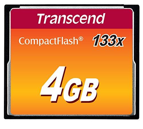 Card de memorie Transcend TS4GCF133 Compact Flash 4GB