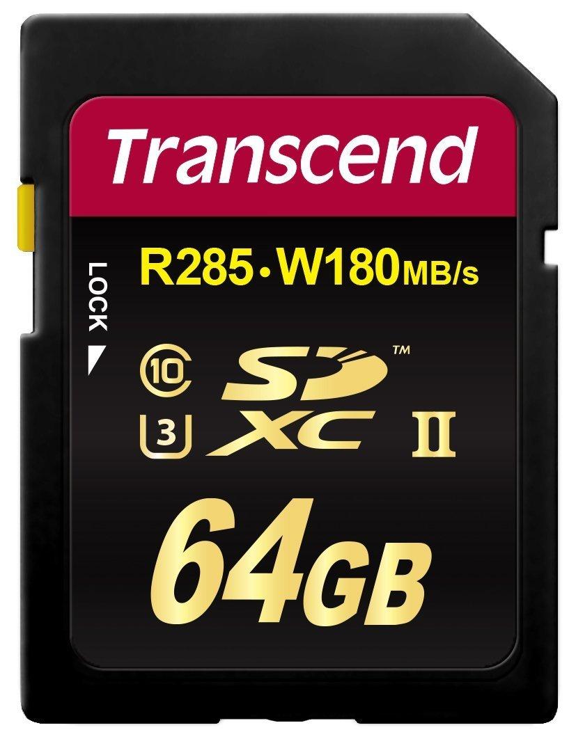 Card de memorie Transcend TS64GSDU3 SDXC 64GB Clasa 3