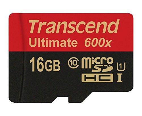 Card de memorie Transcend TS16GUSDHC10U1 microSDHC 16GB Clasa 10