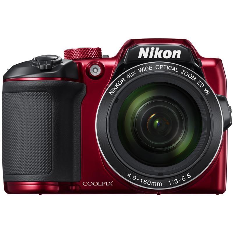 Aparat Foto Compact Nikon COOLPIX B500 Rosu