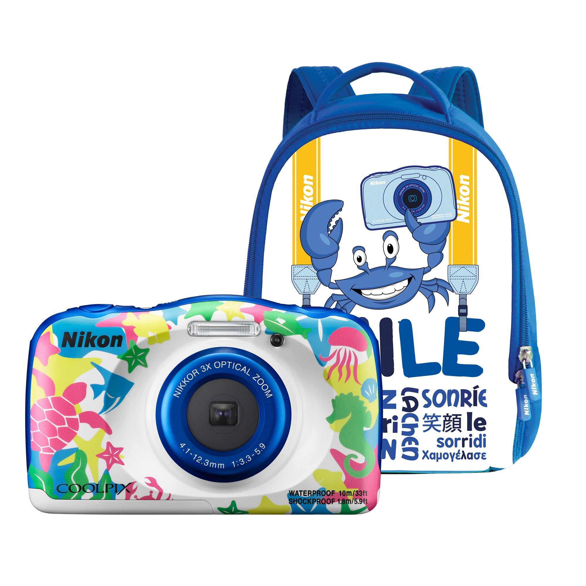Aparat Foto Compact Nikon COOLPIX WATERPROOF W100 Backpack Kit Multicolor