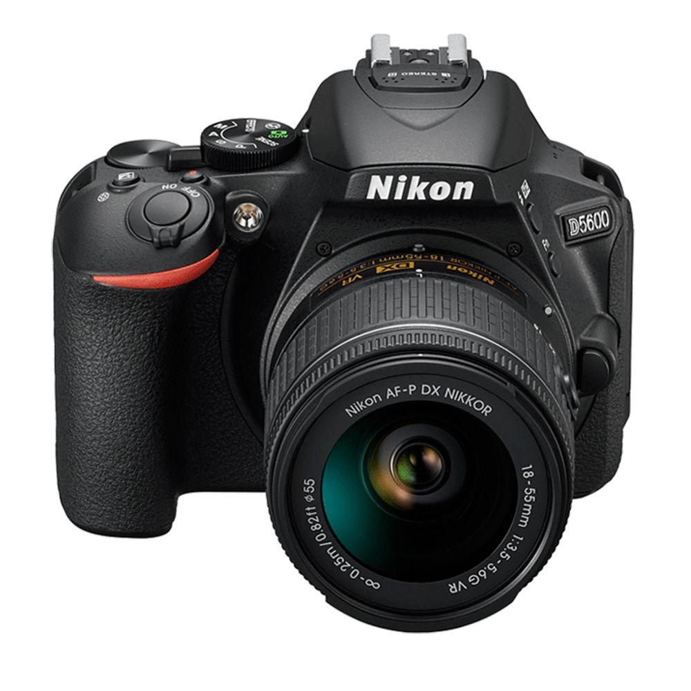 Aparat Foto Nikon DSLR D5600 Kit AF-P 18-55mm VR Negru