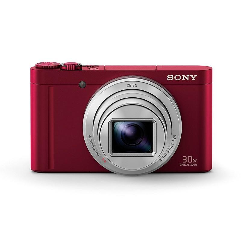 Aparat Foto Digital Compact Sony WX500 Rosu