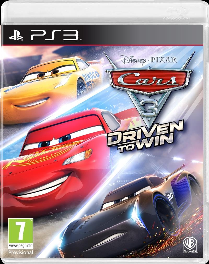 Cars 3 Driven To Win - PS3
