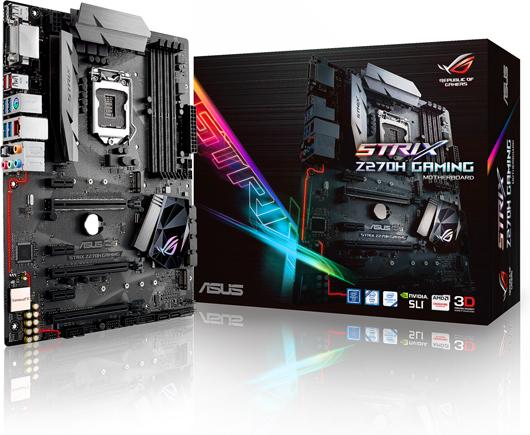Placa de baza ASUS STRIX Z270H GAMING socket 1151