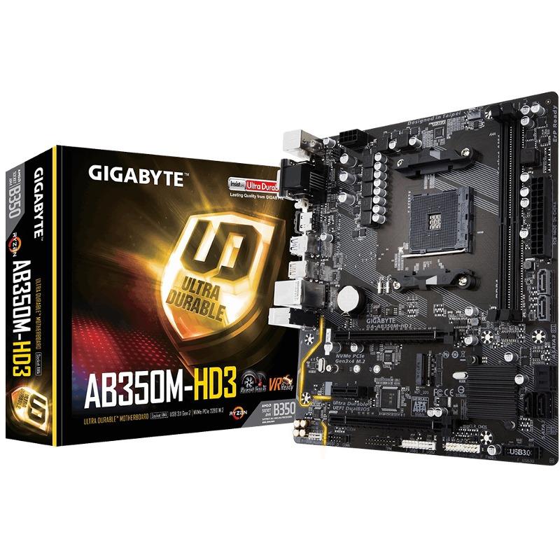 Placa de baza Gigabyte GA-AB350M-HD3 socket AM4