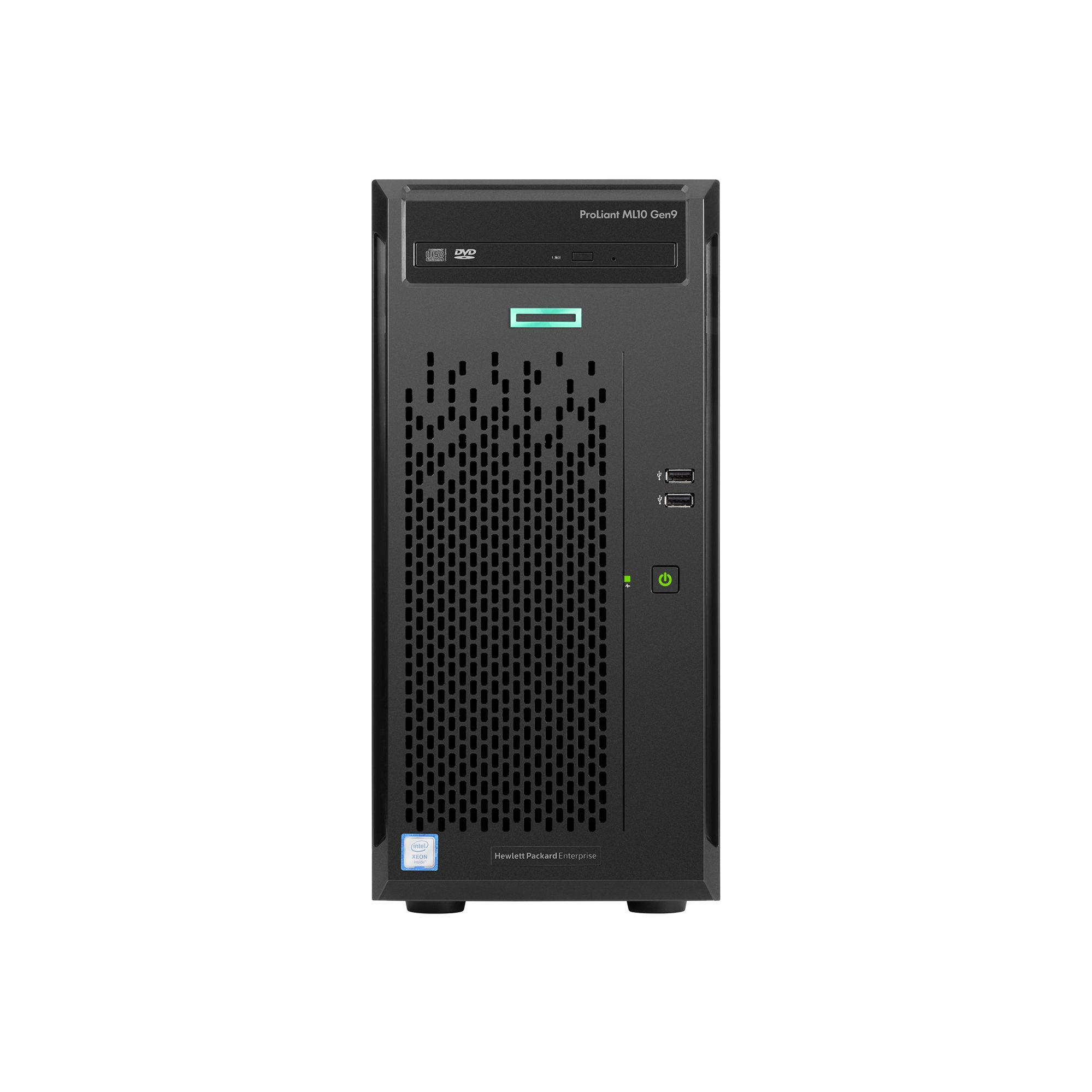 Server HP ProLiant ML10 Gen9 Intel Xeon E3-1225v5 2x1TB 8GB 4xLFF
