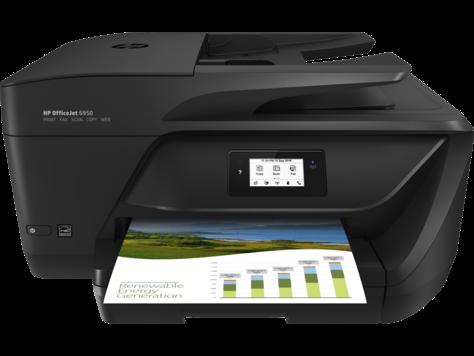 Multifunctional Inkjet Color HP OfficeJet 6950 All-in-One