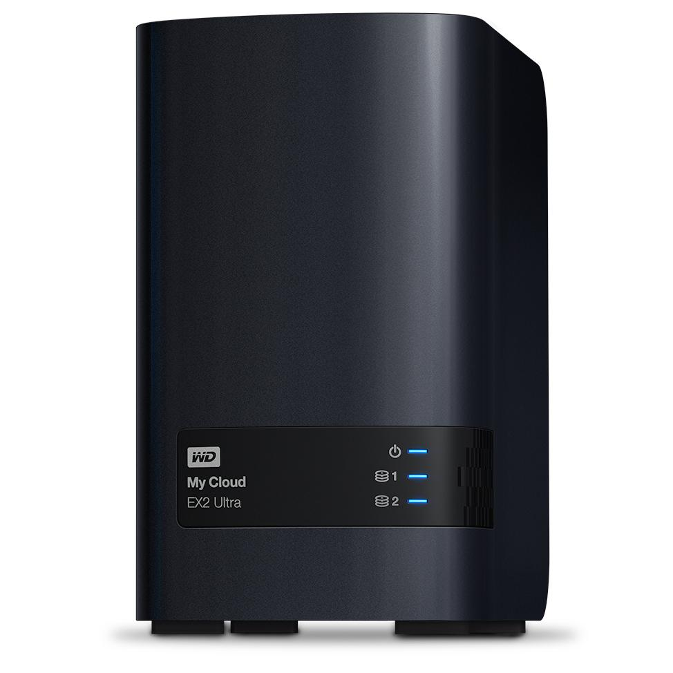 NAS Western Digital My Cloud Expert Series Ex2 Ultra 2-bay 8 TB Gigabit