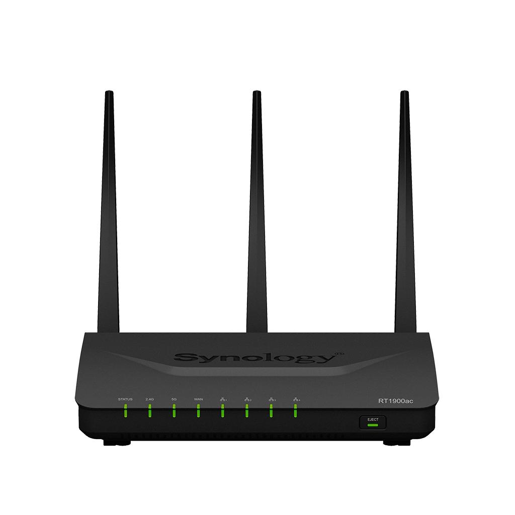 Router Synology RT1900ac WAN: 1xGigabit 802.11ac-1900Mbps Server VPN