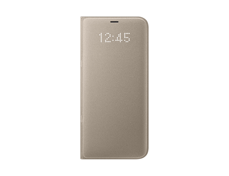 Husa LED View Samsung EF-NG955 pentru Galaxy S8 Plus G955 Auriu