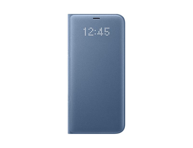 Husa LED View Samsung EF-NG955 pentru Galaxy S8 Plus G955 Albastru