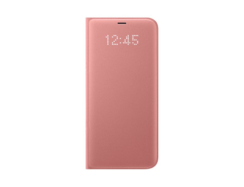 Husa LED View Samsung EF-NG955 pentru Galaxy S8 Plus G955 Roz