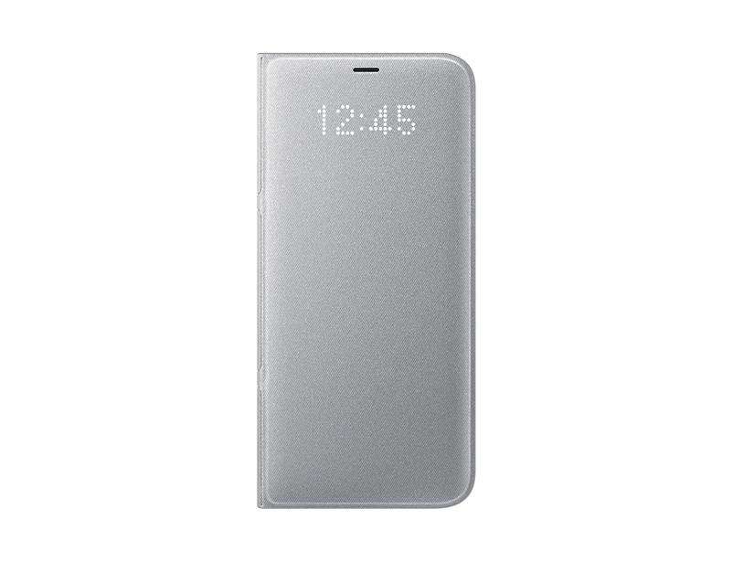 Husa LED View Samsung EF-NG955 pentru Galaxy S8 Plus G955 Argintiu