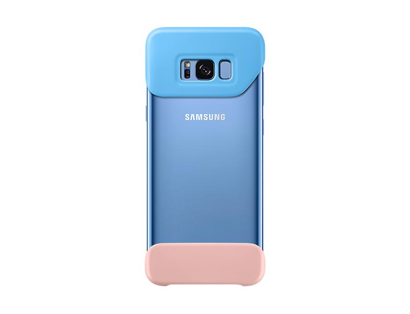 Capac protectie spate Samsung EF-MG955 pentru Galaxy S8 Plus G955 Albastru