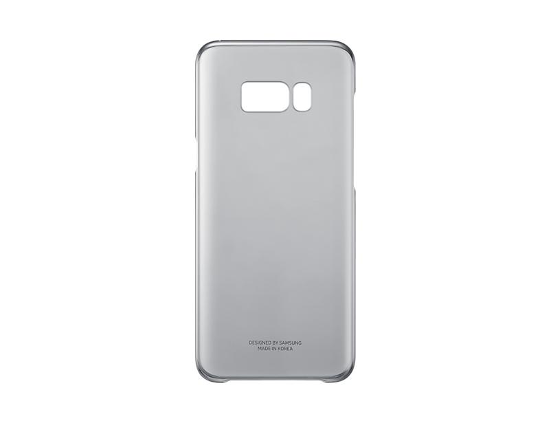 Capac protectie Clear Cover Samsung EF-QG955 pentru Galaxy S8 Plus G955 Negru