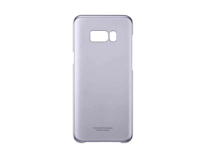 Capac protectie Clear Cover Samsung EF-QG955 pentru Galaxy S8 Plus G955 Violet