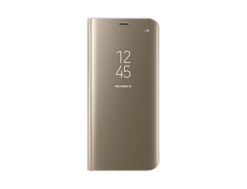 Husa Clear View Samsung EF-ZG950 pentru Galaxy 8 G950 Auriu