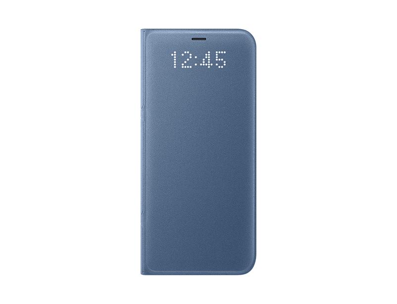 Husa LED View Samsung EF-NG950 pentru Galaxy S8 G950 Albastru