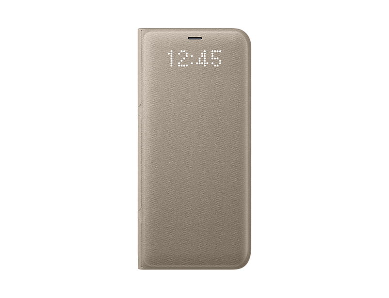 Husa LED View Samsung EF-NG950 pentru Galaxy S8 G950 Auriu