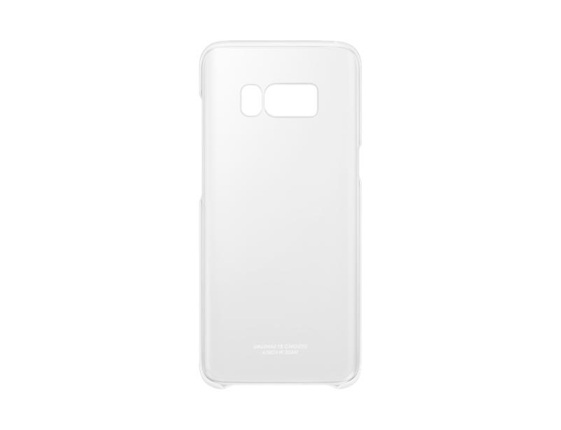 Capac protectie Clear Cover Samsung EF-QG950 pentru Galaxy S8 G950 Argintiu