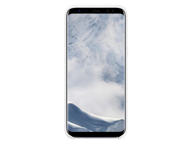 Capac protectie Silicone Cover Samsung EF-PG950 pentru Galaxy S8 G950 Alb