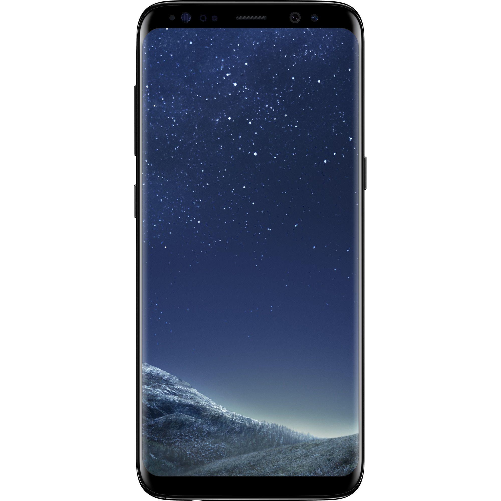 Telefon Mobil Samsung Galaxy S8 G950 64GB Flash 4GB RAM Single SIM 4G Midnight Black
