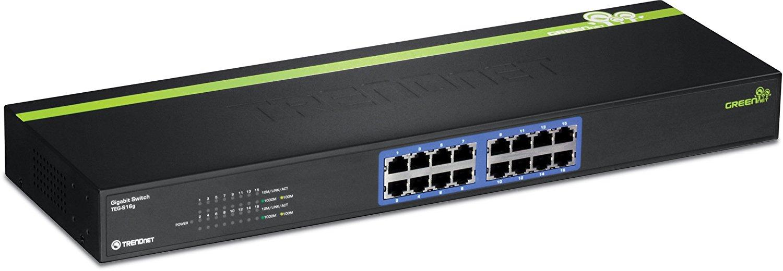 Switch TRENDnet TEG-S16g fara management fara PoE 16x1000Mbps-RJ45