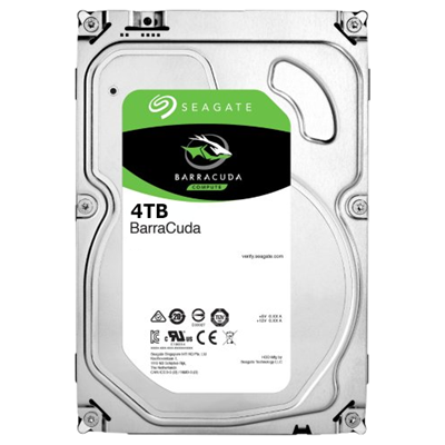 Hard Disk Desktop Seagate BarraCuda 4TB 5400RPM 256MB SATA III 3.5
