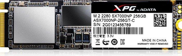 Hard Disk SSD A-Data XPG SX7000 256GB M2 2280