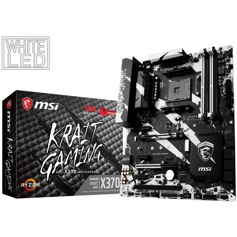 Placa de baza MSI X370 Krait Gaming socket AM4