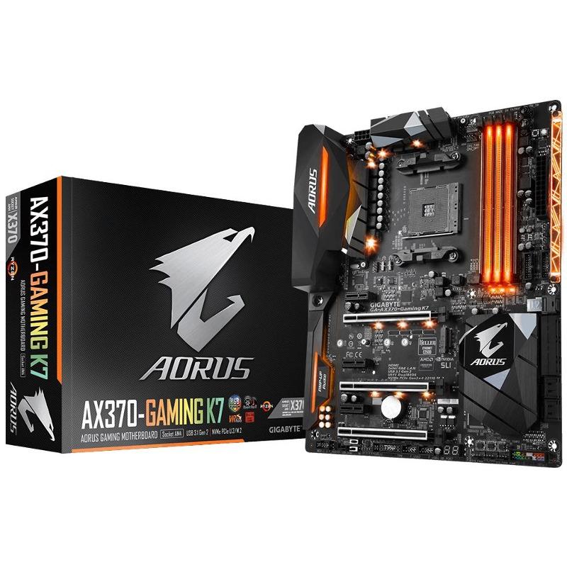 Placa de baza Gigabyte AORUS AX370 Gaming K7 socket AM4