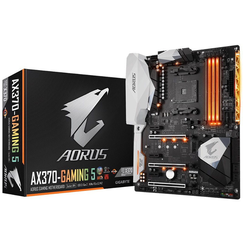 Placa de baza Gigabyte AORUS AX370 Gaming 5 socket AM4