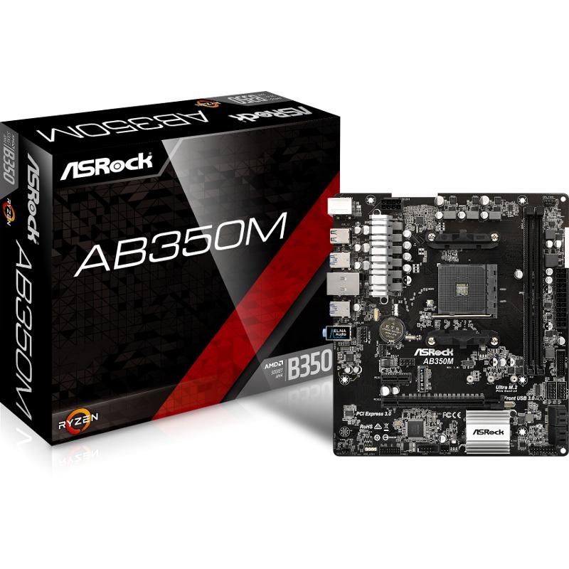 Placa de baza ASRock AB350M socket AM4